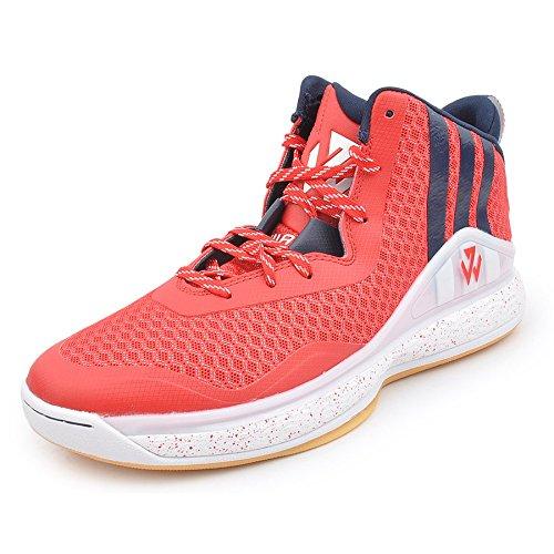 adidas J WALL 1 scarlet/navy/white