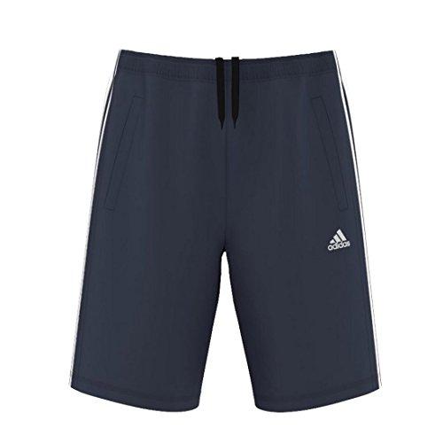 adidas Herren Shorts ESS THE, Dunkelblau/Weiβ