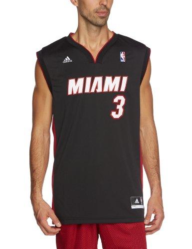 adidas Herren Trikot International Miami Heat Dwyane Wade Replica