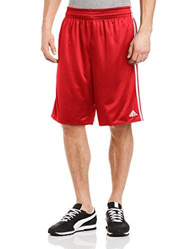 adidas Herren Shorts Team Reversible, rot