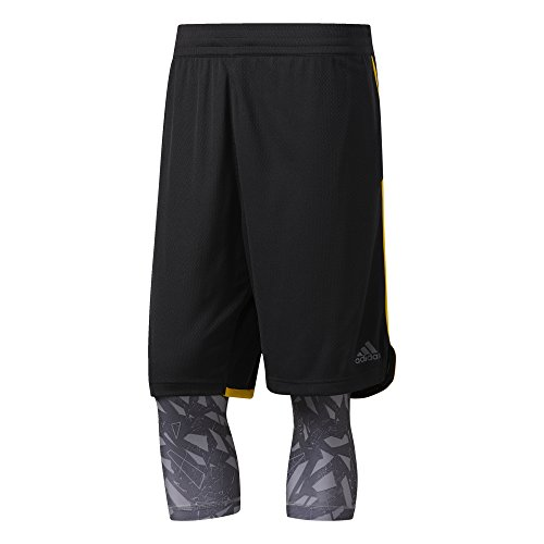 adidas Herren Essential 2 in 1 Shorts, black