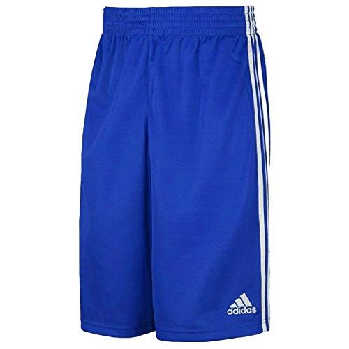 adidas Kinder Shorts Commander Youth, Blau/Weiß