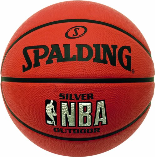 Spalding Herren Basketball NBA Silver Outdoor