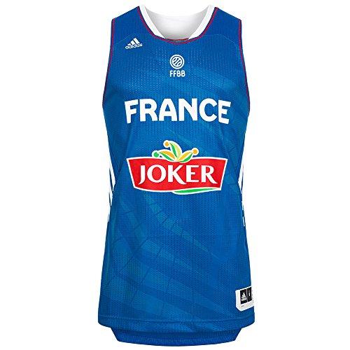 adidas Basketball Trikot Nationalmannschaft Frankreich