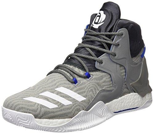 Adidas D Rose 7Herren Basketballschuhe, grau