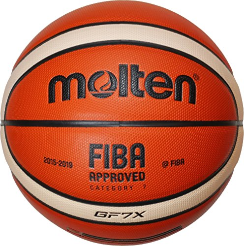 Molten Basket Ball – Orange/Ivory, 7