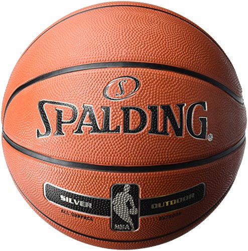 Spalding Basketball Nba Badminton Ball, Orange, 7