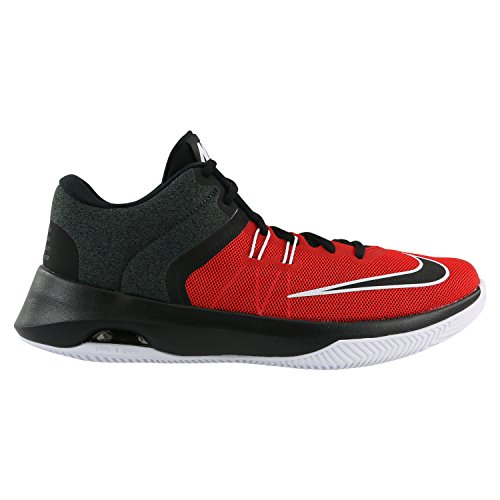 Nike Air Versatile II Rot Mesh Basketballschuhe