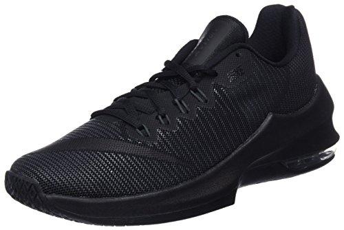 Nike Herren Basketballschuh Air Max Infuriate 2 Low, schwarz